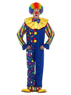 Adult Deluxe Clown Costume - Side View
