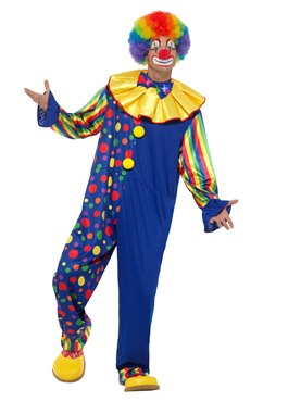 Adult Deluxe Clown Costume