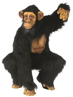 Adult Deluxe Comical Chimp Costume