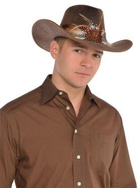 Adult Deluxe Cowboy Hat