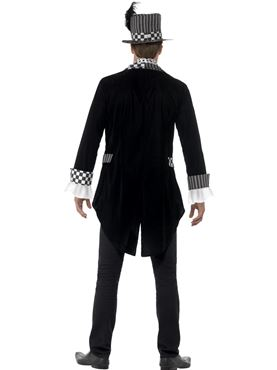 Adult Deluxe Dark Hatter Costume - Side View