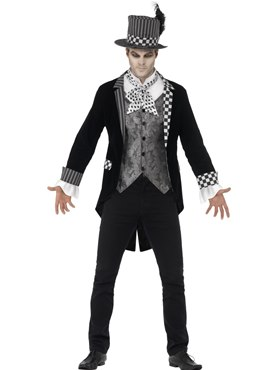 Adult Deluxe Dark Hatter Costume Thumbnail