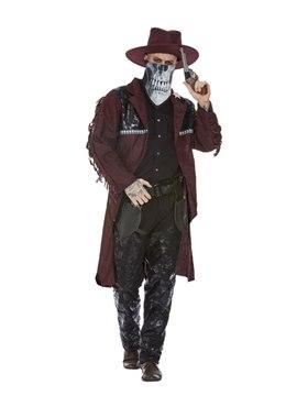 Adult Deluxe Dark Spirit Western Cowboy Costume