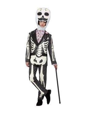 Adult Deluxe DOTD Senor Costume - Back View