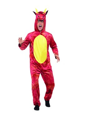 Adult Deluxe Dragon Costume