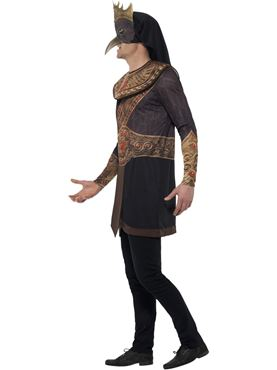 Adult Deluxe Egyptian God Horus Costume - Back View
