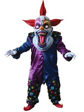Adult Deluxe Evil Clown Costume