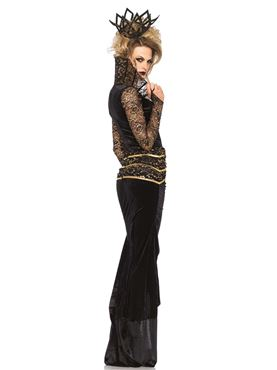 Adult Deluxe Evil Queen Costume - Back View