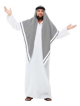 Adult Deluxe Fake Sheikh Costume - Back View