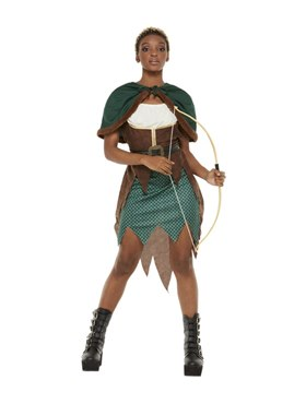 Adult Deluxe Forest Archer Costume Couples Costume