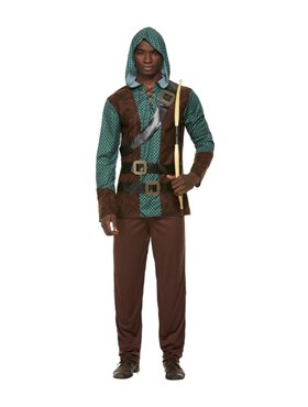 Adult Deluxe Forest Archer Costume