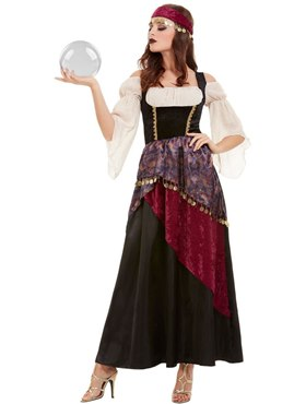 Adult Deluxe The Greatest Showman Fortune Teller Costume