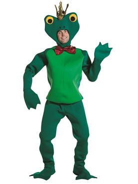 Adult Deluxe Frog Prince Costume