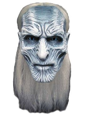 Adult Deluxe Game of Thrones White Walker Mask
