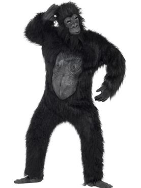 Adult Deluxe Gorilla Costume