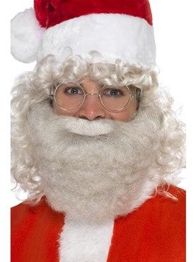 Adult Deluxe Grey Santa Beard