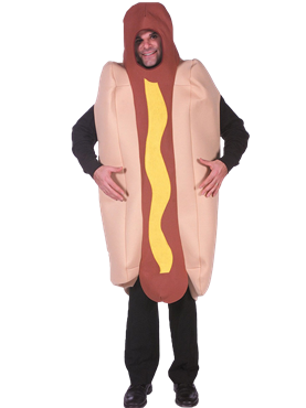 Adult Deluxe Hot Dog Costume Couples Costume