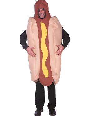 Adult Deluxe Hot Dog Costume
