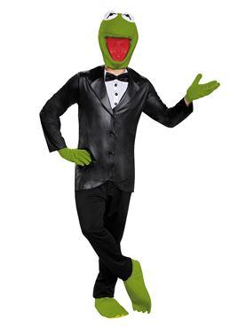 Adult Deluxe Kermit Costume