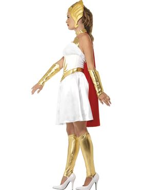 Adult Deluxe Latex She-Ra Costume - Back View