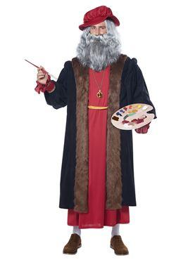 Adult Deluxe Leonardo Da Vinci Costume