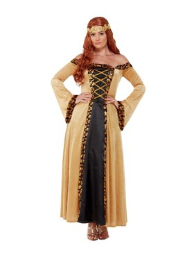 Adult Deluxe Medieval Countess Costume