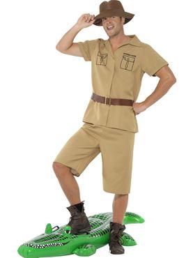 Adult Safari Man Costume