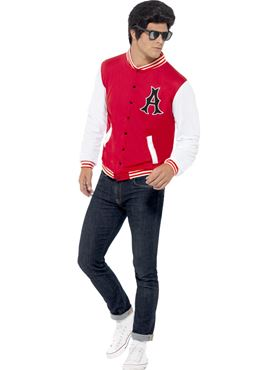 Adult 50s College Jock Jacket