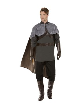 Adult Deluxe Medieval Lord Costume - Back View