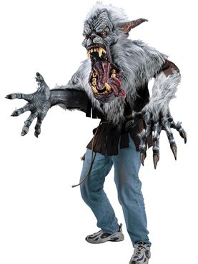 Adult Deluxe Midnight Howl Creature Reacher Costume