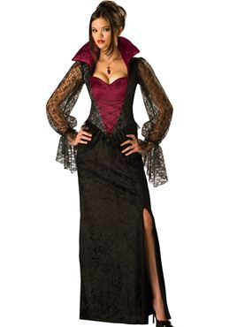 Adult Deluxe Midnight Vampiress Costume Couples Costume