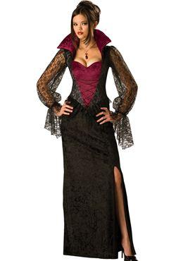 Adult Deluxe Midnight Vampiress Costume