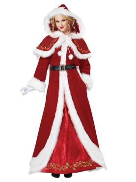Adult Deluxe Mrs Clause Costume