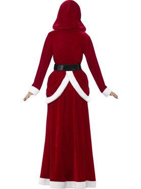 Adult Deluxe Ms Claus Costume - Side View