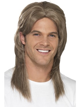 Adult Deluxe Mullet Wig