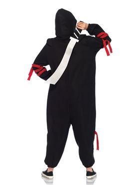 Adult Deluxe Ninja Kigarumi Funsie Costume - Back View