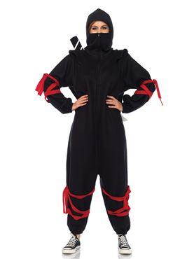 Adult Deluxe Ninja Kigarumi Funsie Costume