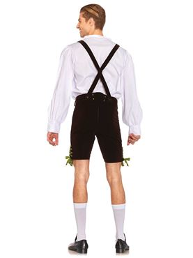 Adult Deluxe Oktoberfest Costume - Back View