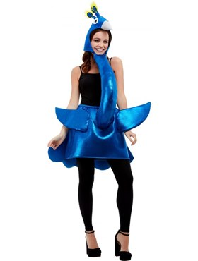 Adult Deluxe Peacock Costume