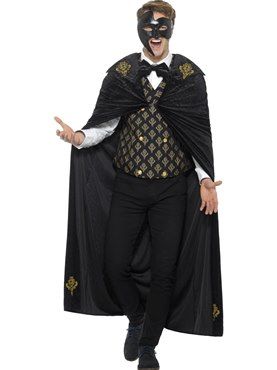 Adult Deluxe Phantom Masquerade Costume Couples Costume