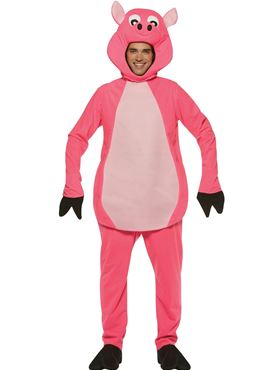 Adult Deluxe Pig Costume