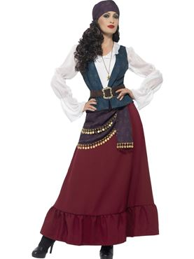 Adult Deluxe Pirate Buccaneer Beauty Costume