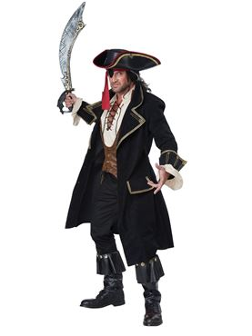 Adult Deluxe Pirate Captain Costume Couples Costume