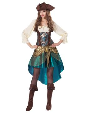 Adult Deluxe Pirate Princess Costume