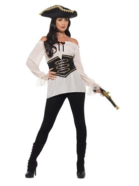 Adult Deluxe Pirate Shirt