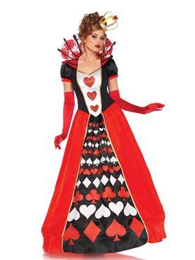 Adult Deluxe Queen of Hearts Costume