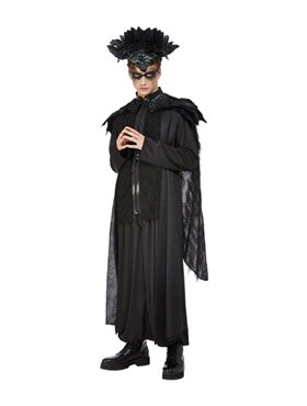 Adult Deluxe Raven King Costume Couples Costume