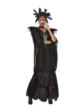 Adult Deluxe Raven Queen Costume