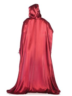 Adult Deluxe Red Riding Hood Costume - Back View