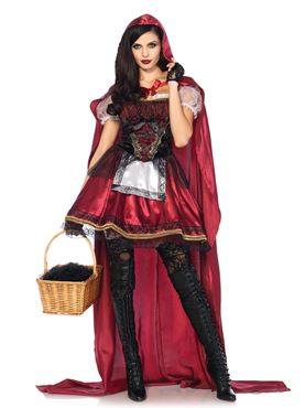 Adult Deluxe Red Riding Hood Costume